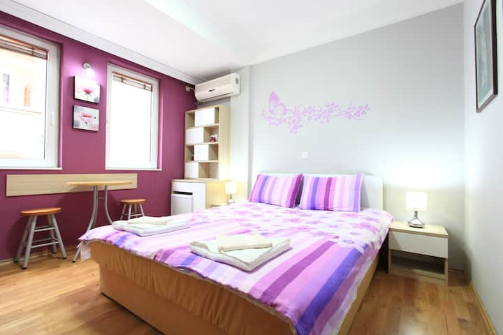 Double room by the lake city center