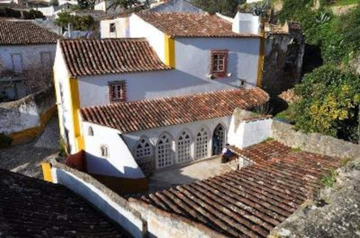 Self-catering house in Obidos Castle