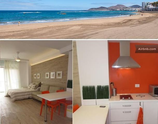 Gorgeous studio on Canteras beach - Les Palmes de Gran Canària