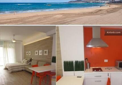 Gorgeous studio on Canteras beach - Palmas de Gran Canaria - Wohnung