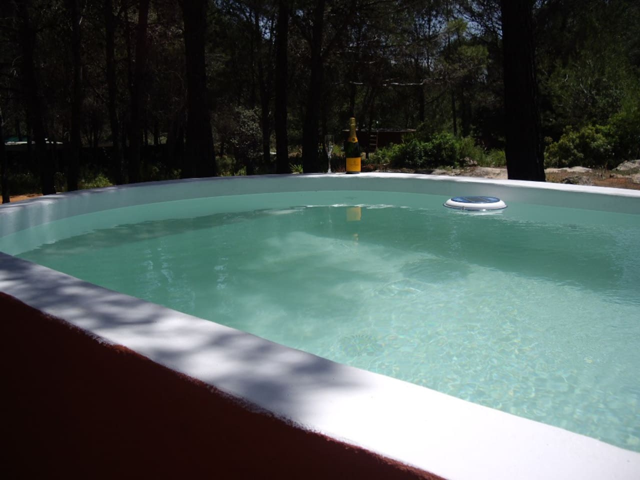 Its small but did you come here to swim or simply enjoy?