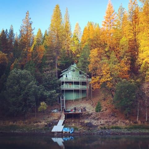 Changing Seasons up at the lake.