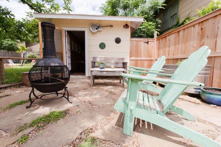 South Austin studio guest house