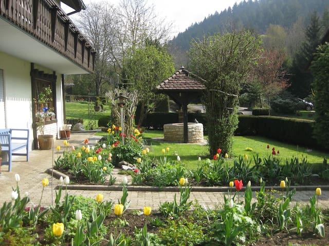 House Edelbrünnele - Wälderblick - Kandern - Apartamento