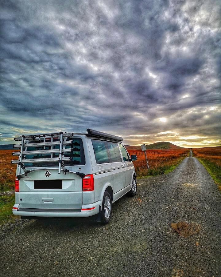 VW T6 Campervan Hire Scotland - Harris