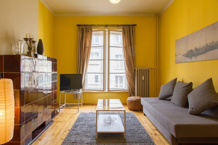 Vintage apartment in central Sofia