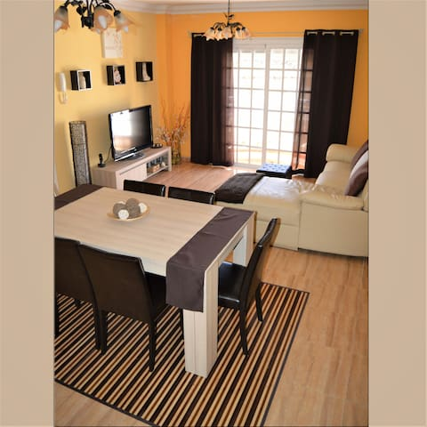 GOLD APARTMENT 2 bedr, private terrace, free WIFI