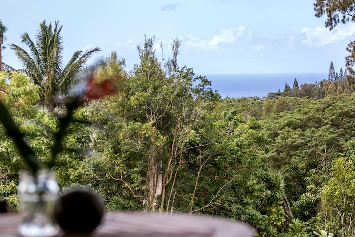 Mountain Retreat - Ocean View - Haleiwa - Wohnung