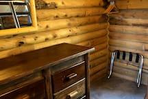 Back bedroom dresser drawyers
