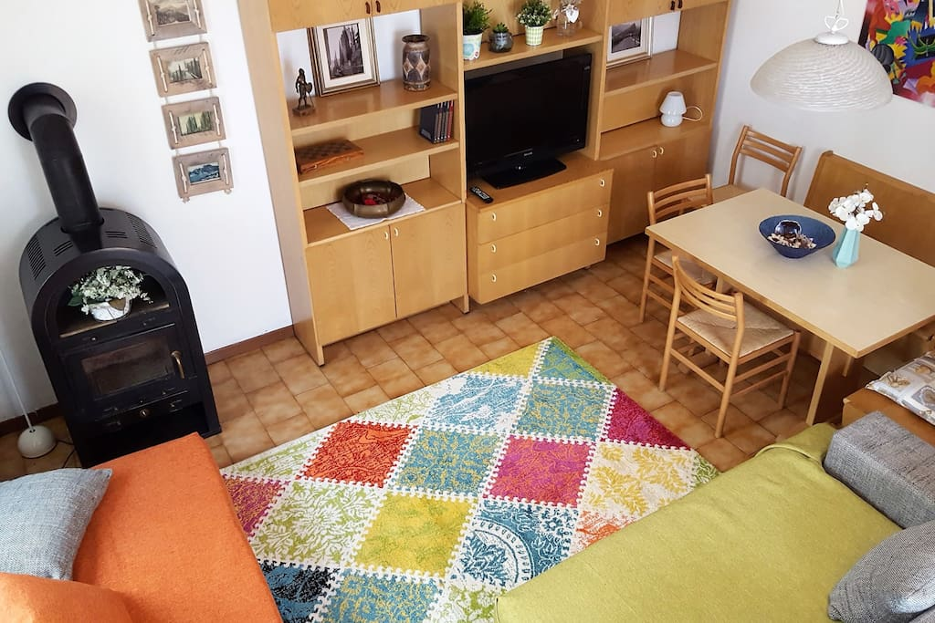 all the comforts in Nonna Natalia Apartment, the right place in the historical centre of Arco!