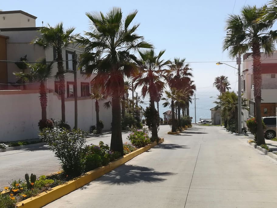 We are very close to the Scenic Route between Tijuana and Rosarito. The place is quiet and relax.