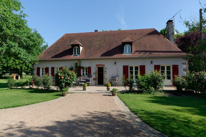 Maison de campagne authentique