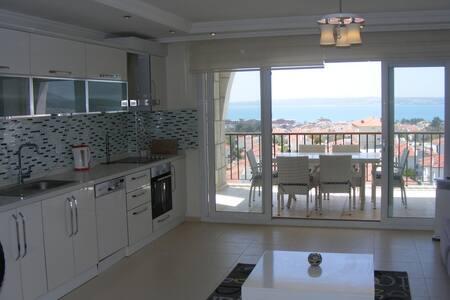 Moderne luxe duplex mét zeezicht! - Babahızır Köyü