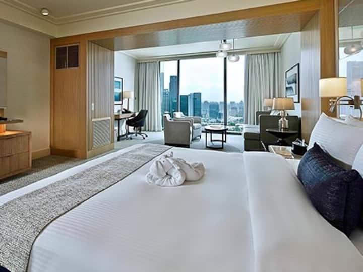 Marina bay sands hotel infinity pool 新加坡金沙酒店无边游泳池