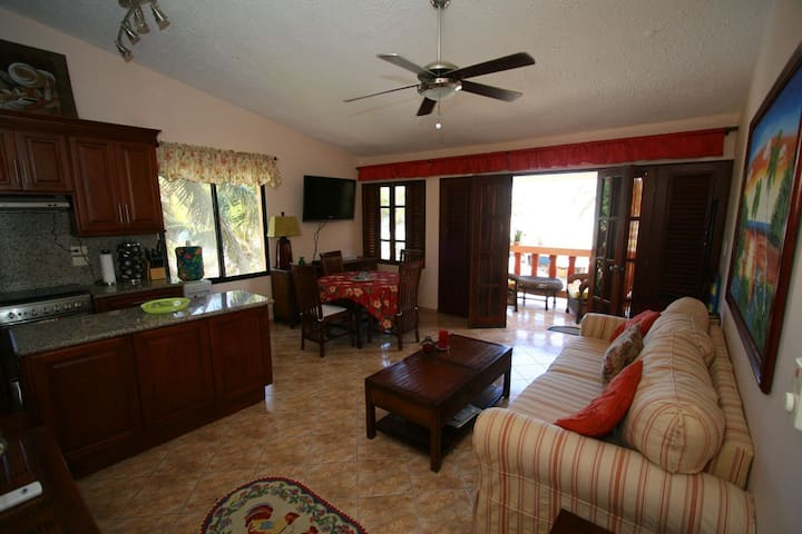 Ocean front 3rd floor one bedroom  - Cabarete
