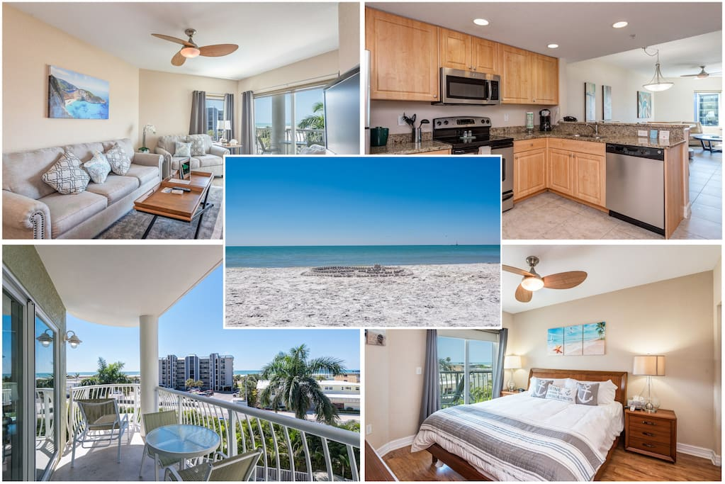 2br 2ba Ocean View Condo In Paradise Boutique Hotels For Rent In Treasure Island Florida