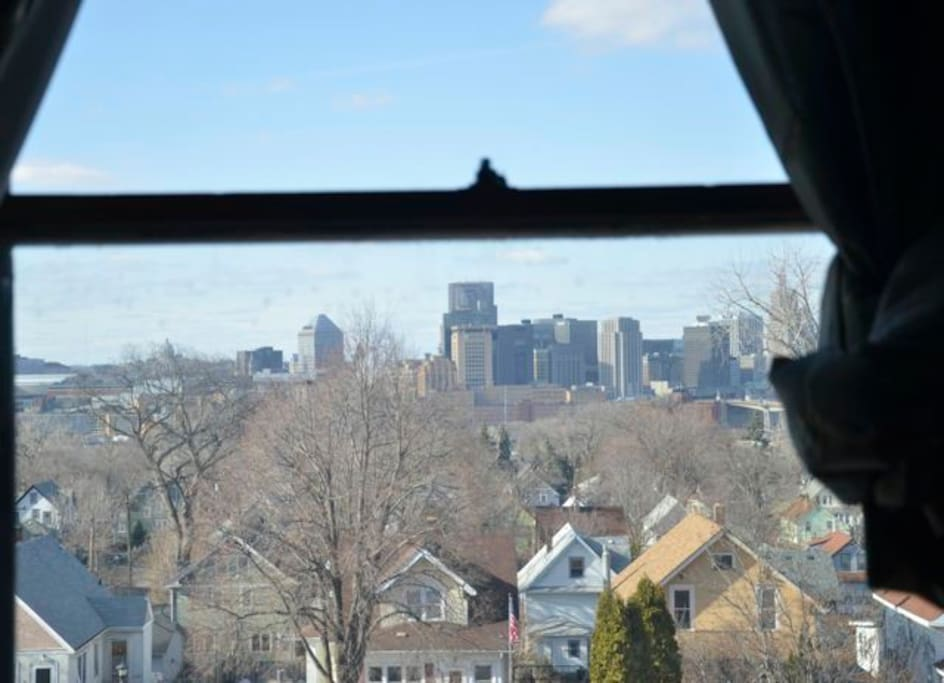 Great view of St. Paul skyline