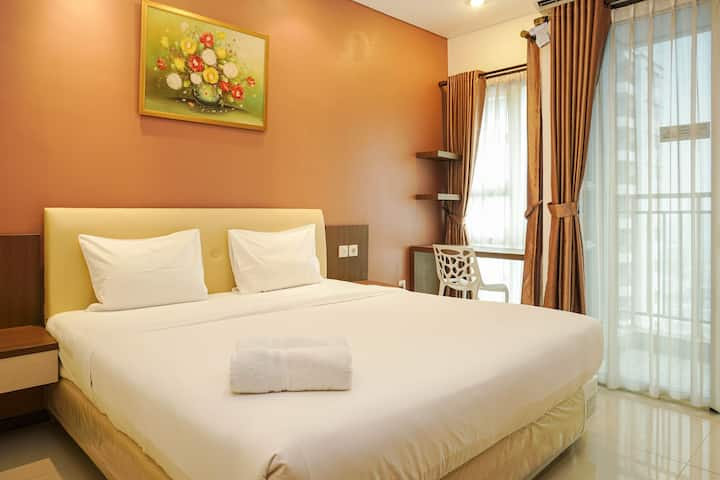 Cozy and Stylish 1BR Apartment @Thamrin Residences