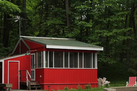 """ The Bunk House"" on Lake Amnicon"