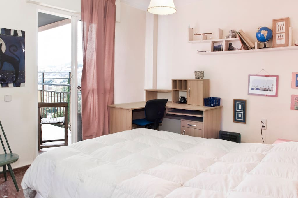 PRETTY DOUBLE ROOM WITH BALCONY