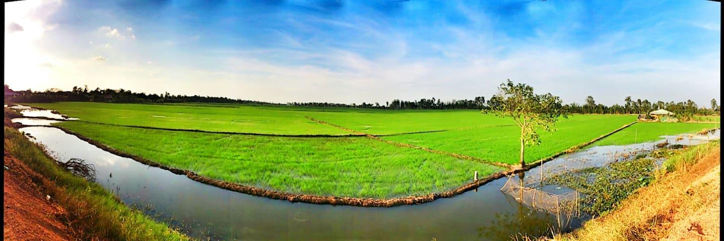 Dong Thap - Mekong Delta - Vietnam - นครโฮจิมินห์ - บ้าน