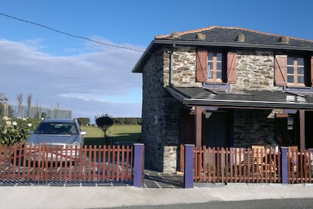 Casa Picón, al borde del acantilado - Loiba - Ortigueira