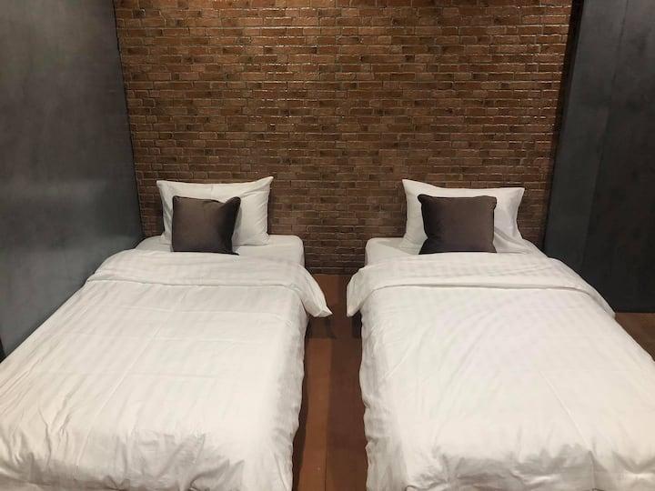 Homjai Farmstay Sankamphaeng - Twin Bed Room