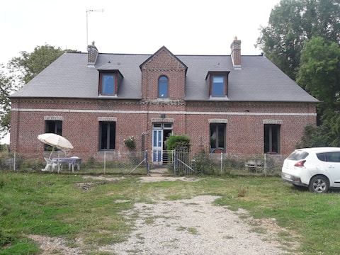 Accommodatie in een boerderij in het hart van Caux
