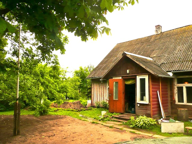 Traditional wooden house in Nature - Pärnu - Haus