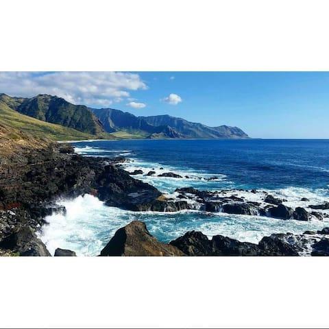 Mellow Māʻili - Waianae - Dům