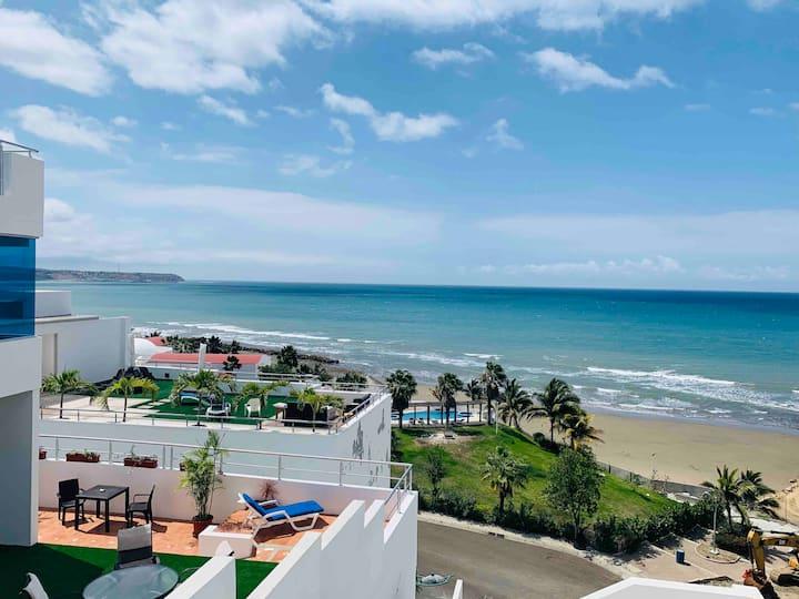 Súper Duplex al mar - Club Privado - Manta Ecuador