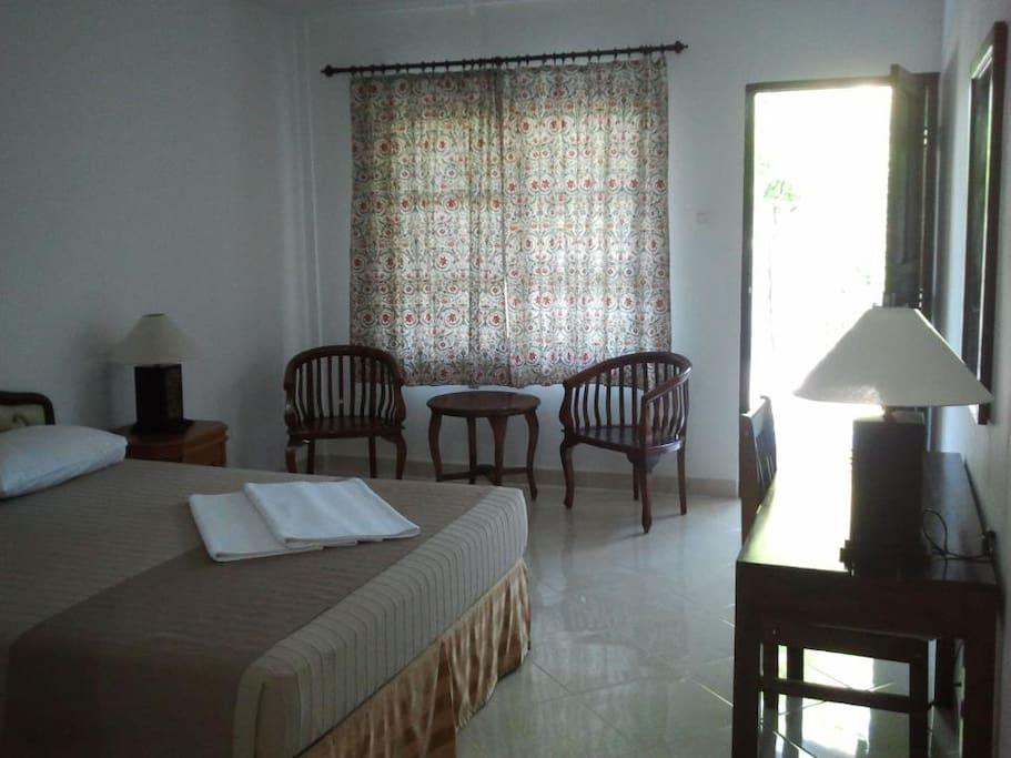 Superior Room  45 € / Night, 280 € / Week, 1170 € / Month.