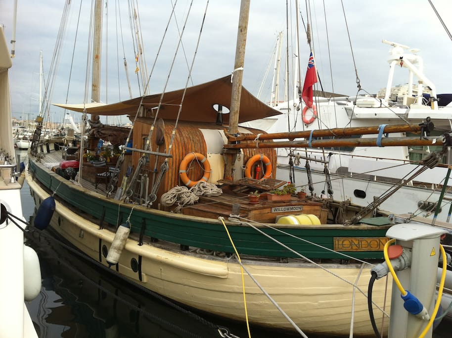 Willowmoon in her current mooring