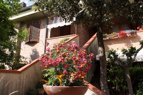 Acogedor apartamento cerca de Siena