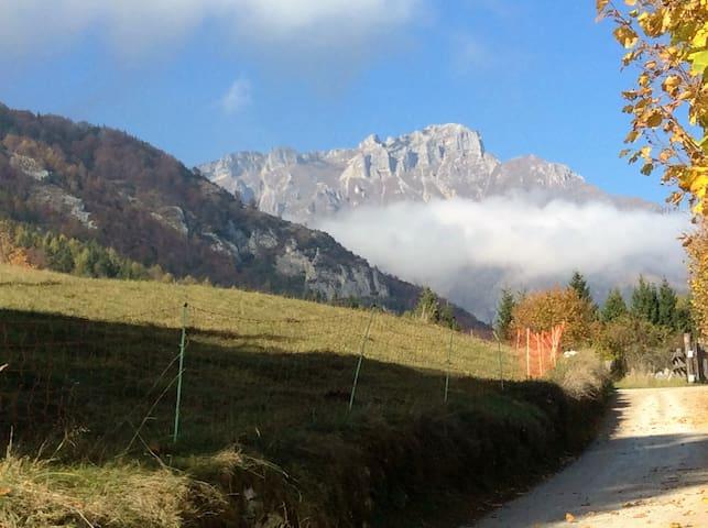 tra monti e valli: Lavarone - miniappartamento