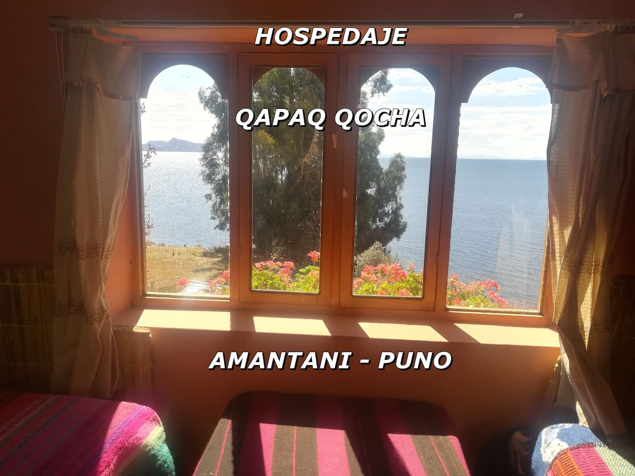 The family AmantaniQocha Lodge placed in the lake Titicaca of Amantani Island offers a traditional way of dressing and dishes local for All visitors can request to dress and take photos.