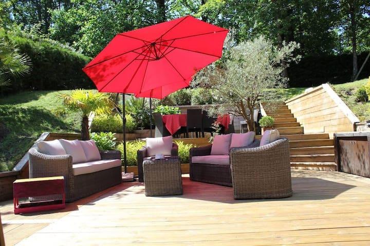 La villa des amis en vacances - Saint-Pierre-d'Irube - Haus