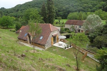 les écuries du moulin de Paunac - Cazillac - Lodge immerso nella natura