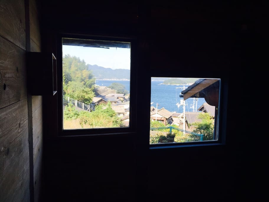 sea view from single room