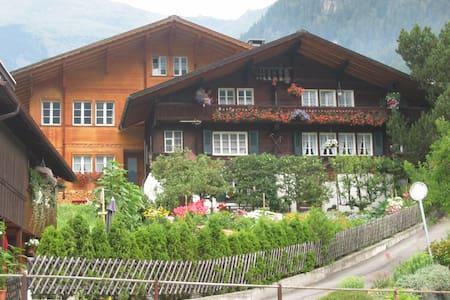 Idyllic location in Grindelwald - 格林德瓦 - 公寓