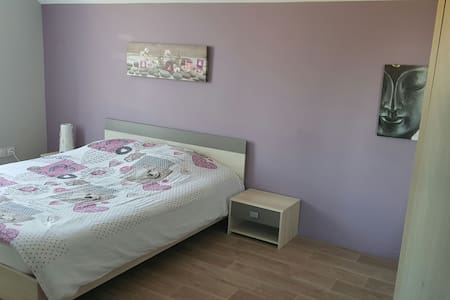 Chambre au calme TV + lit en 160 - Ormes - Rumah