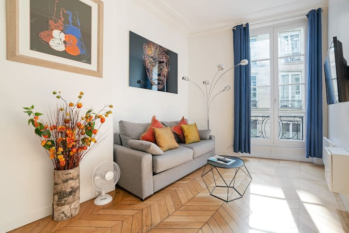 Bel appartement 2 pièces proche Opera-Le Louvre