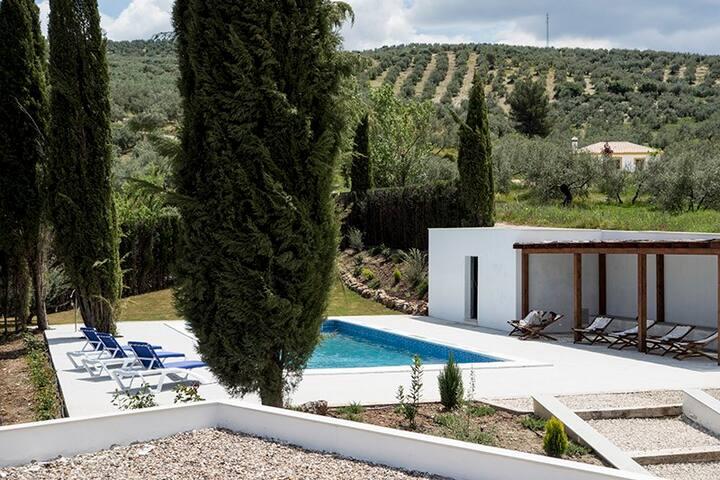 Cortijo la Isla, vacation home - Priego de Córdoba - Huvila