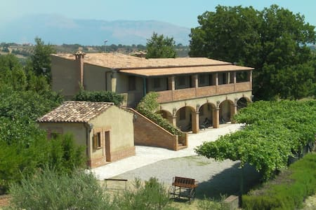 Countryhouse  Le Farnie DOUBLE room - Altomonte