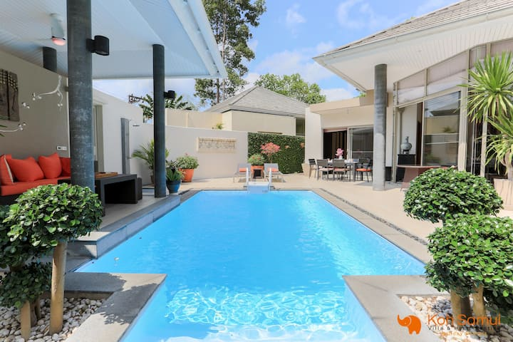Villa Creavana 3BR + Private Pool - Lipa Noi Beach