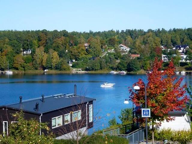 Super modern family home by the sea - Lidingö - Villa