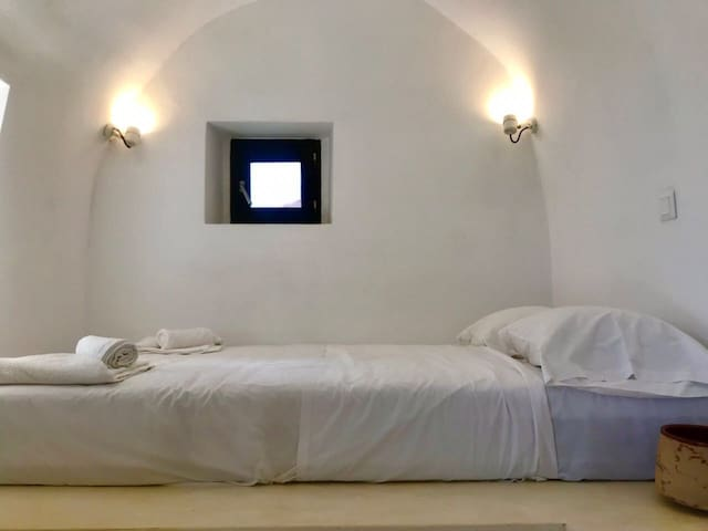 Villetta Erato:Picturesque studio in Chalki