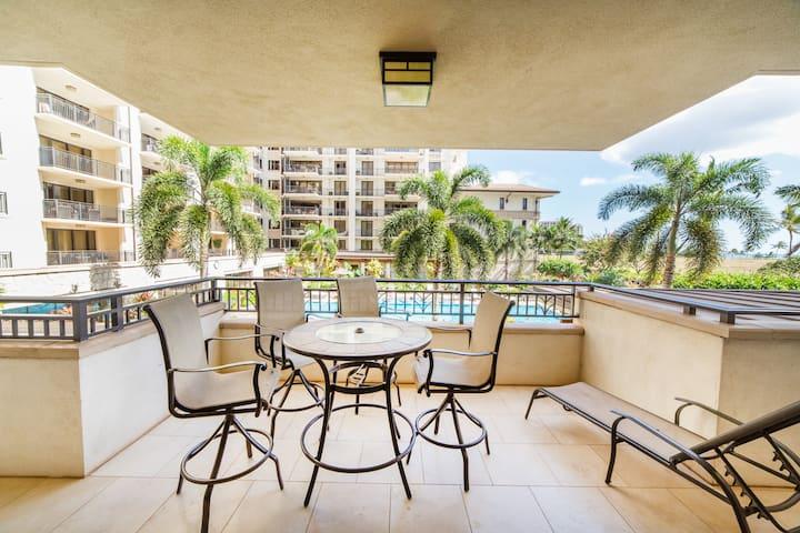 Ko Olina Luxurious 2 Bedroom 2 Bath Beach Villa