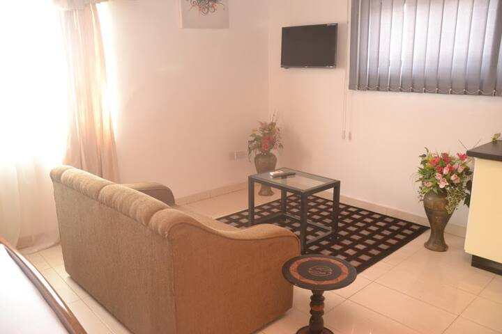 Spacious studio apartment - Accra - Apartamento