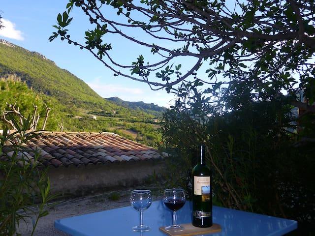 charming provençal village - Montaulieu - บ้าน